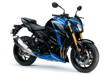 Demovoertuig Suzuki GSX-S750A blauw-zwart